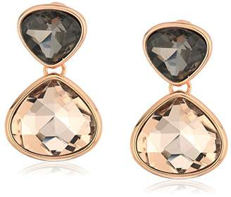 Kenneth Cole New York Supercharged Collection Women's and Blush Stone Drop Earrings