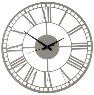 Debenhams Cream Roman Domed Wall Clock