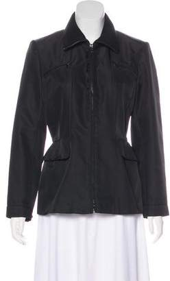 Barbara Bui Structured Zip-Up Jacket
