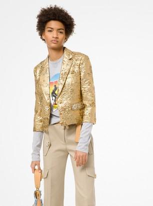 Michael Kors Floral Brocade Jacket