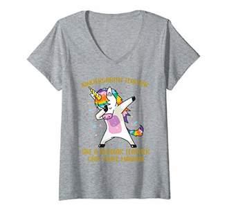 Womens Kindergarten Teacher More Magical Costume Kindergarten Gifts V-Neck T-Shirt