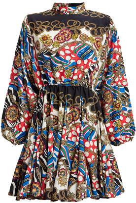 Rhode Resort Caroline Chain Print Mini Dress