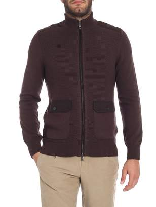 Hackett Wool Cotton Cardigan