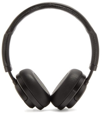 Master & Dynamic - Mw50 Leather On Ear Wireless Headphones - Mens - Black
