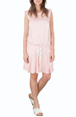 Allette Irene Drop Waist Nursing Dress