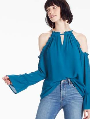 Lucky Brand COLD SHOULDER TOP