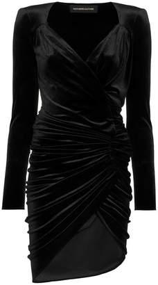Alexandre Vauthier ベルベット ドレス