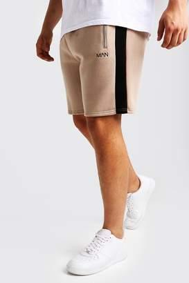 boohoo Big & Tall MAN Dash Panelled Short