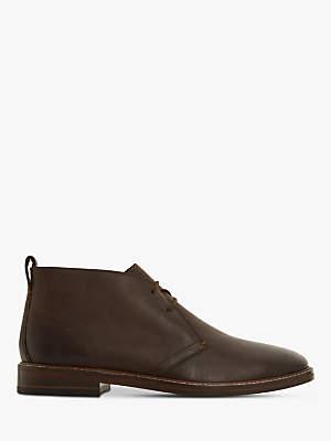 Dune Cech Leather Chukka Boots