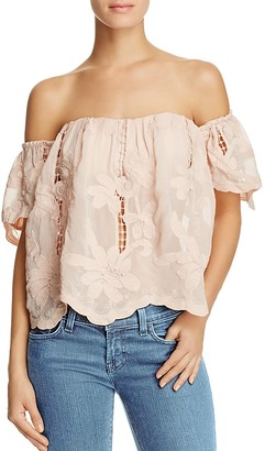 Lovers and Friends Life's a Beach Off-the-Shoulder Top $138 thestylecure.com