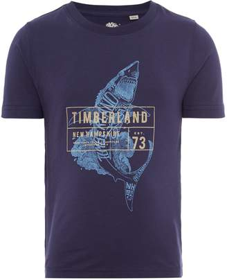 Timberland Boys Short Sleeve T-Shirt