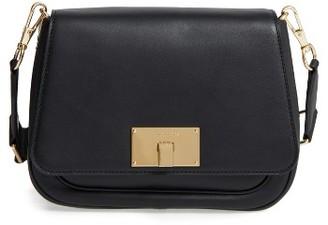Marc Jacobs Navigator Leather Crossbody Bag - Black $495 thestylecure.com