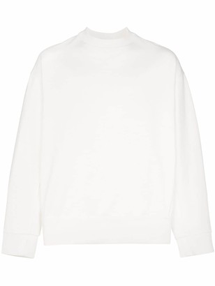 Y-3 signature embellished boxy fit cotton jumper