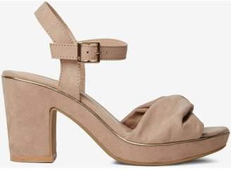 Dorothy Perkins Womens Blush 'Roxanne' Platform Sandals