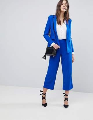 Fashion Union Wide Leg Tailored Pants Two-Piece