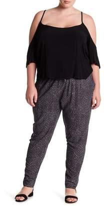Susina Geo Print Pants (Plus Size)