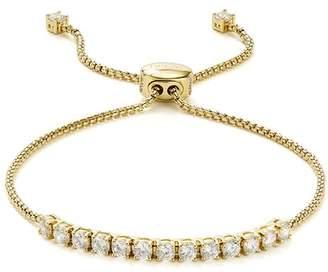 "Nadri Cubic Zirconia Adjustable Slider Bracelet, 10"""