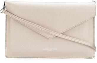 Lancaster textured clutch bag