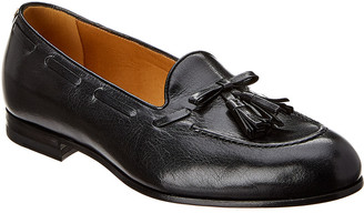 Gucci Tassle Leather Loafer
