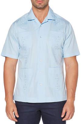 dd17b09d25 Cubavera Mens Short Sleeve Button-Front Shirt Big and Tall