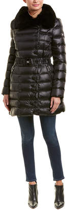 Dawn Levy Izzie Long Puffer Down Coat