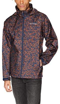 Columbia Men's Glennaker Lake Printed Rain Jacket