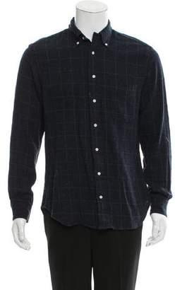 Gitman Brothers Plaid Wool-Blend Shirt