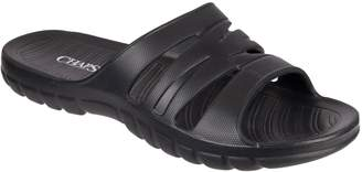 Chaps Men's Soft Sport Slide-On Sandals