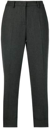 Cambio cuffed cropped trousers