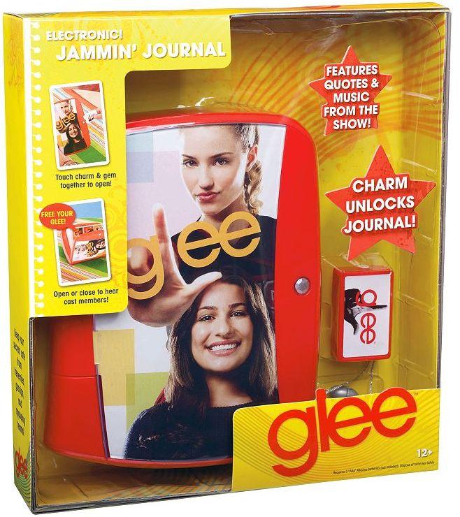 Makebelieve Glee jammin' journal by mattel