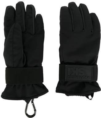 DSQUARED2 padded technical ski gloves