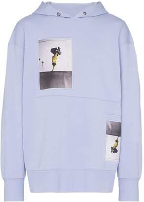 Tony Hawk Signature Line x Corbijn printed patch hoodie