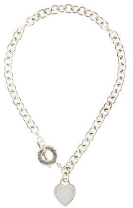 c8b6f71d4 Heart And Toggle Chain Necklace - ShopStyle