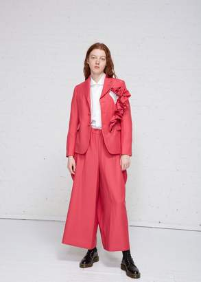 Comme des Garcons Ruffle Sleeve Blazer