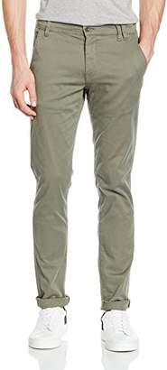"3.1 Phillip Lim Shine Original Men's Stretch Chino Trousers, Brown Dark Sand 34"", W/34 L"