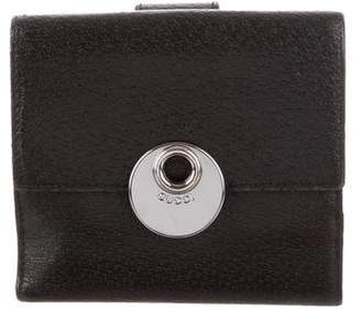 Gucci Leather Eclipse Wallet