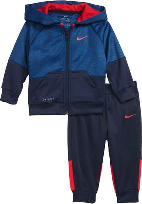 Nike Speckle Dry Zip Hoodie & Pants Set