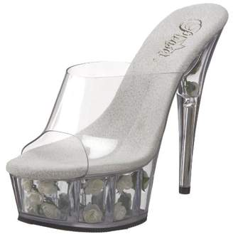Pleaser USA Women's DELIGHT-601FL/C/W Platform Sandal
