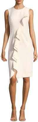 Milly Sleeveless Ruffle Dress