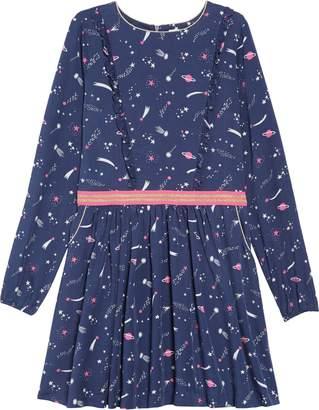 Boden Mini Woven Frill Space Dress