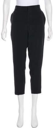 Juan Carlos Obando Silk High-Rise Pants