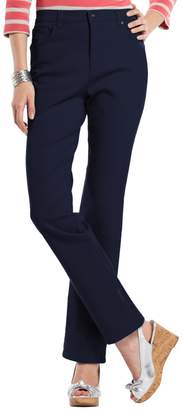 Gloria Vanderbilt Petite Amanda Color Tapered Twill Pants