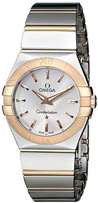Omega Women's 123.20.27.60.02.003 Constellation Polished Analog Display Quartz -Tone Watch