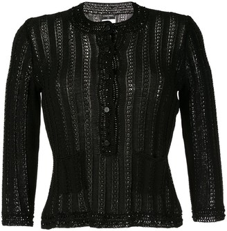 Chanel Pre-Owned long sleeve knitted cardigan