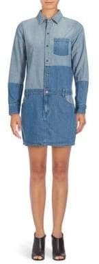 Current/Elliott The Whitney Denim Dress