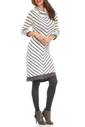 Hatley Chevron Cowl Dress