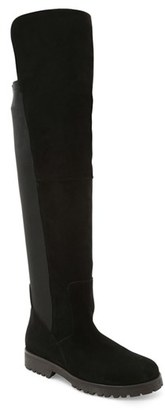 Women's Andre Assous 'Milan' Waterproof Leather Over The Knee Boot $364.95 thestylecure.com