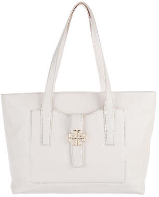 Tory BurchTory Burch Logo-Embellished Leather Tote