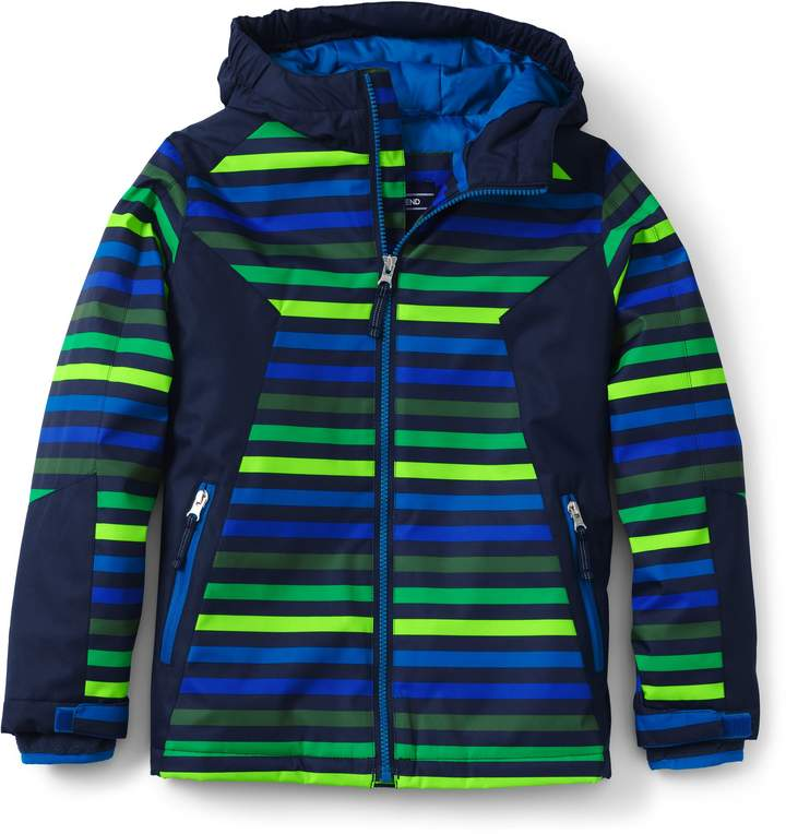 efa1d6413 Lands end Boys Stormer Printed Jacket