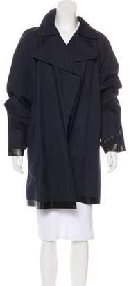 Burberry Coated Twill Coat